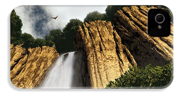 Dragons Den Canyon IPhone 4 / 4s Case by Richard Rizzo