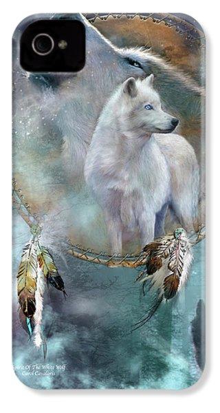 Dream Catcher - Spirit Of The White Wolf IPhone 4 Case