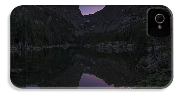 IPhone 4 Case featuring the photograph Dream Lake Reflections by Gary Lengyel