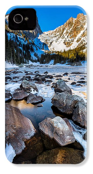 Dream Lake Sunrise IPhone 4 Case