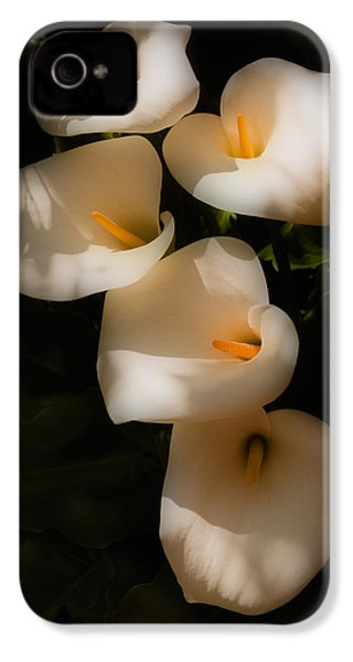 Dreamy Lilies IPhone 4 / 4s Case by Mick Burkey