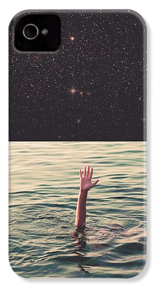Drowned In Space IPhone 4 / 4s Case by Fran Rodriguez