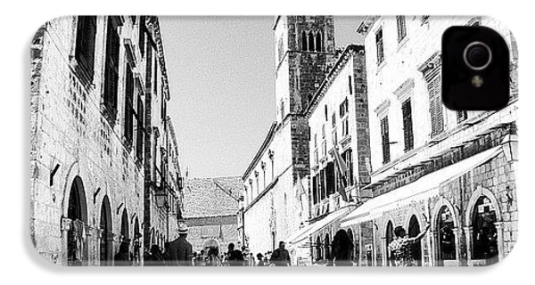 #dubrovnik #b&w #edit IPhone 4 Case by Alan Khalfin