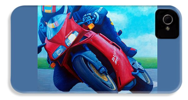 Ducati 916 IPhone 4 Case by Brian  Commerford