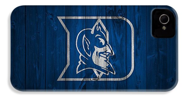 Duke Blue Devils Barn Door IPhone 4 / 4s Case by Dan Sproul