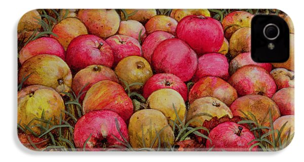 Durnitzhofer Apples IPhone 4 / 4s Case by Ditz