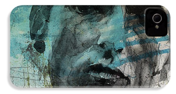Dylan - Retro  Maggies Farm No More IPhone 4 Case by Paul Lovering