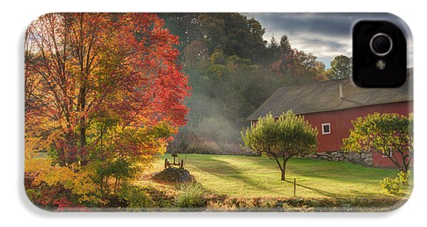 Early Autumn Morning IPhone 4 Case by Bill Wakeley