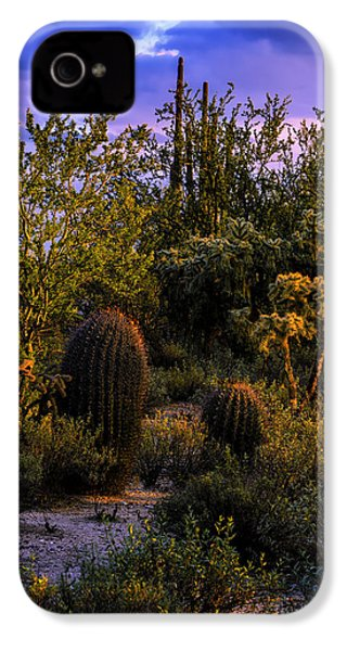 East Of Sunset V40 IPhone 4 Case by Mark Myhaver