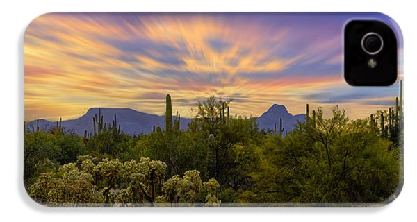 Easter Sunset H18 IPhone 4 Case by Mark Myhaver