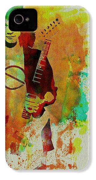 Eddie Van Halen IPhone 4 Case by Naxart Studio