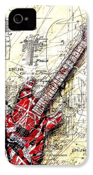 Eddie's Guitar 3 IPhone 4 Case by Gary Bodnar
