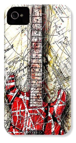 Eddie's Guitar Vert 1a IPhone 4 Case by Gary Bodnar