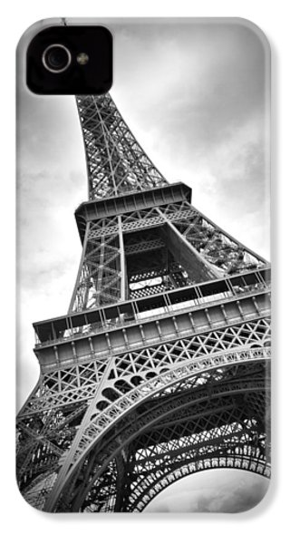 Eiffel Tower Dynamic IPhone 4 Case by Melanie Viola