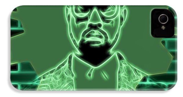 Electric Kanye West Graphic IPhone 4 Case by Dan Sproul