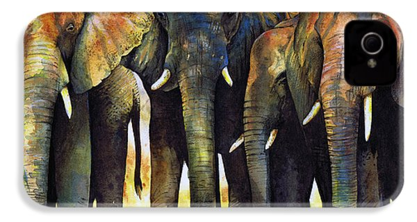 Elephant Herd IPhone 4 Case