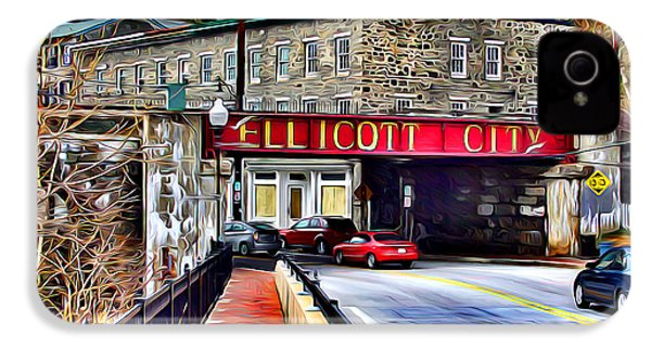 Ellicott City IPhone 4 Case by Stephen Younts
