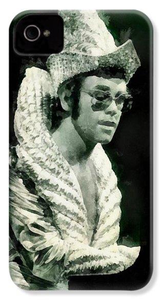 Elton John By John Springfield IPhone 4 Case by John Springfield