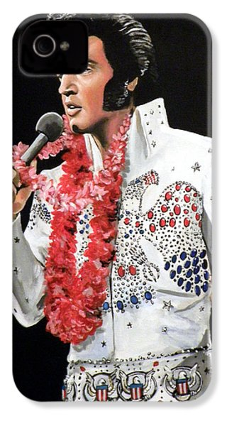 Elvis IPhone 4 Case by Tom Carlton