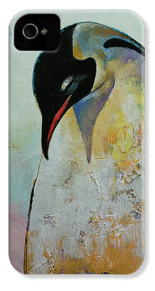 Emperor Penguin IPhone 4 / 4s Case by Michael Creese