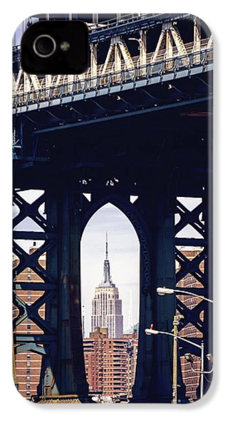 Empire Framed IPhone 4 Case by Joan McCool