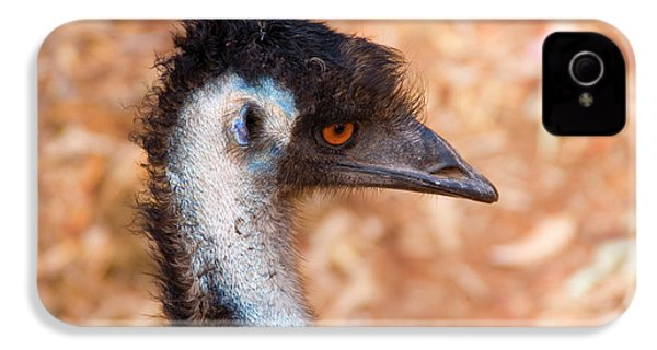 Emu Profile IPhone 4 / 4s Case by Mike  Dawson