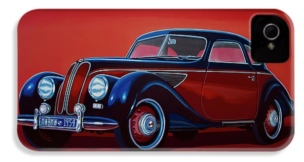 Emw Bmw 1951 Painting IPhone 4 Case by Paul Meijering