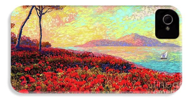 Enchanted By Poppies IPhone 4 Case
