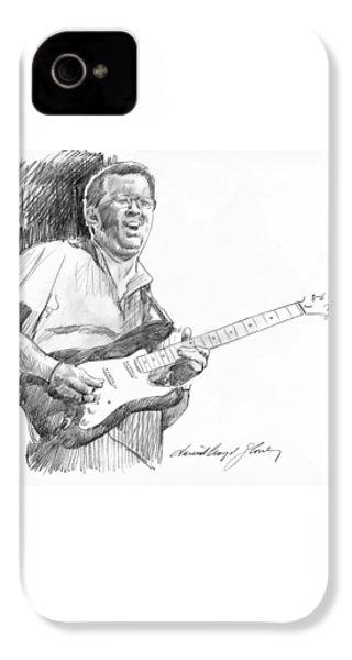 Eric Clapton Jam IPhone 4 / 4s Case by David Lloyd Glover