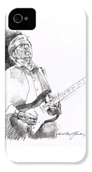 Eric Clapton Joy IPhone 4 Case