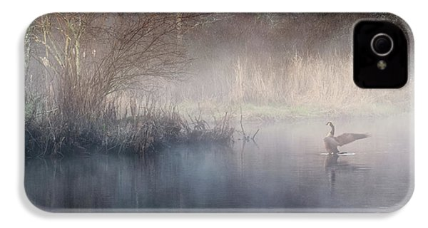IPhone 4 Case featuring the photograph Ethereal Goose by Bill Wakeley