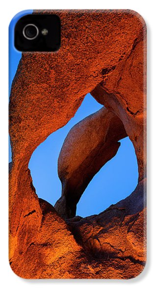 Evening's  Eye IPhone 4 Case by Mike Lang