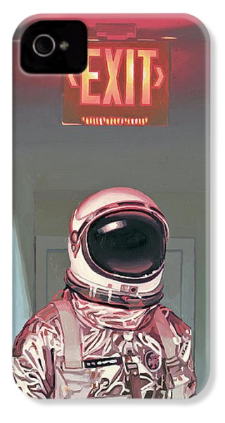 Exit IPhone 4 Case by Scott Listfield