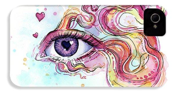 Eye Fish Surreal Betta IPhone 4 Case by Olga Shvartsur