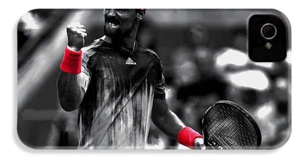 Fabio Fognini IPhone 4 Case by Brian Reaves