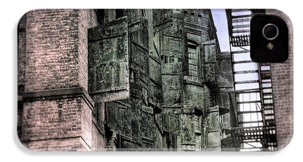 Factory Doors - Dumbo IPhone 4 Case by Dave Beckerman