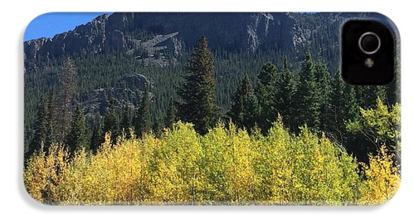 Fall At Twin Sisters IPhone 4 Case
