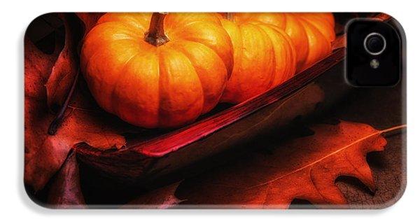 Fall Pumpkins Still Life IPhone 4 Case