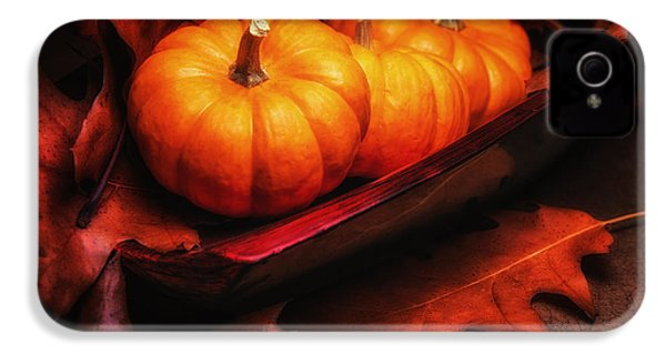 Fall Pumpkins Still Life IPhone 4 / 4s Case by Tom Mc Nemar
