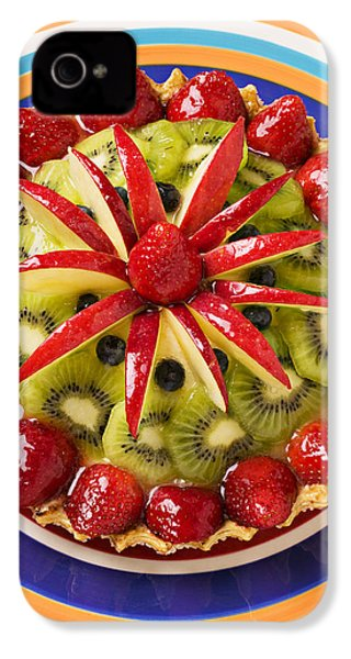 Fancy Tart Pie IPhone 4 Case by Garry Gay