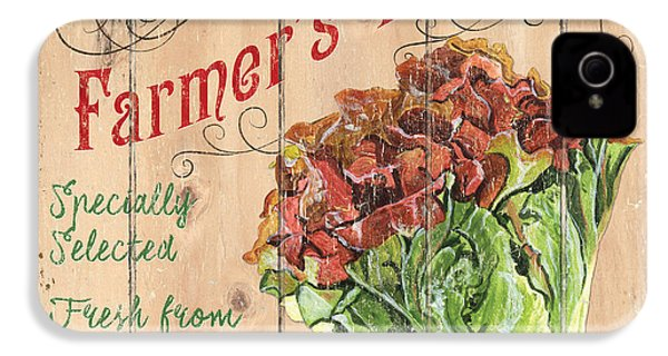 Farmer's Market Sign IPhone 4 Case