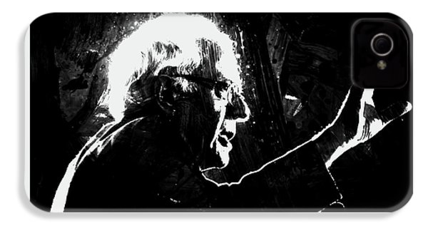 Feeling The Bern IPhone 4 Case by Brian Reaves