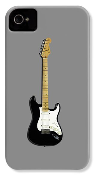 Fender Stratocaster Blackie 77 IPhone 4 Case