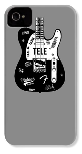 Fender Telecaster 64 IPhone 4 Case by Mark Rogan