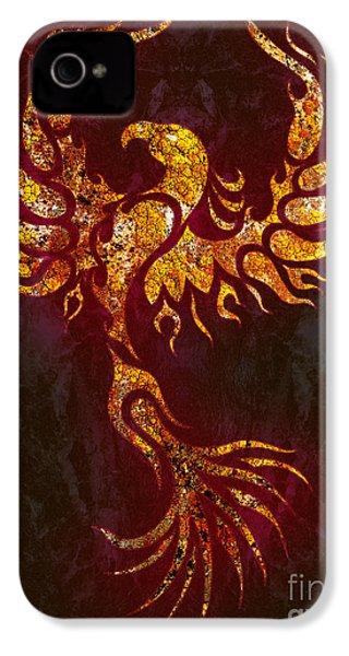 Fiery Phoenix IPhone 4 Case