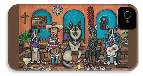 Fiesta Dogs IPhone 4 Case