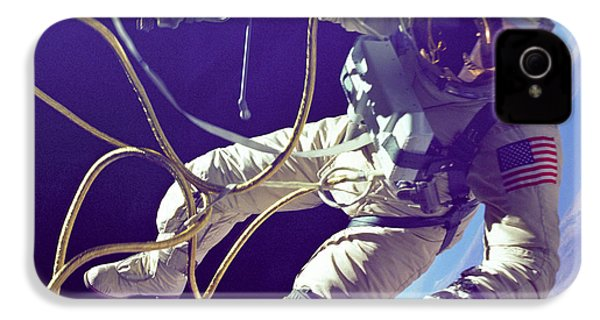 First American Walking In Space, Edward IPhone 4 / 4s Case by Nasa
