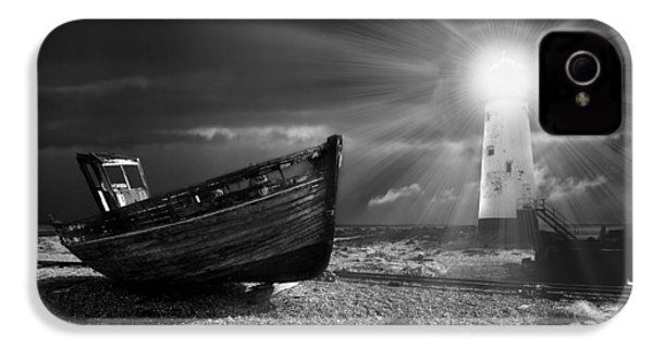 Fishing Boat Graveyard 7 IPhone 4 Case by Meirion Matthias