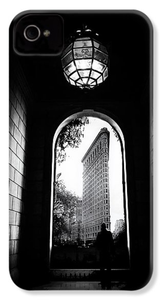 IPhone 4 Case featuring the photograph Flatiron Point Of View by Jessica Jenney