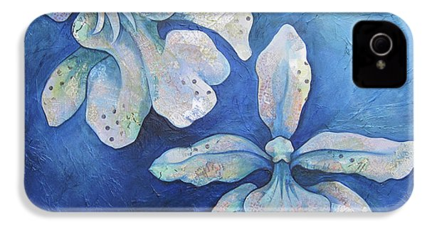 Floating Orchid IPhone 4 Case by Shadia Derbyshire